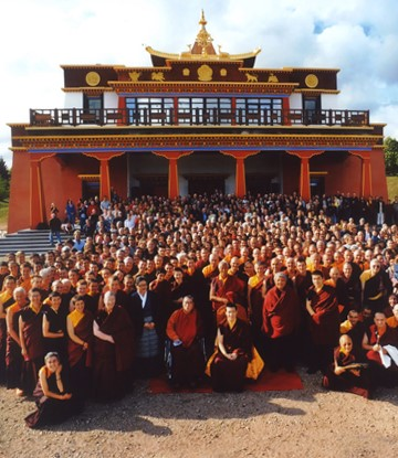 Geschichte des Dhagpo-Kagyu-Mandalas