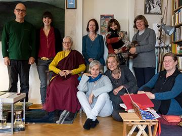 Dhagpo Kagyü Dharmagruppe Stuttgart mit Lama Sherab Palmo