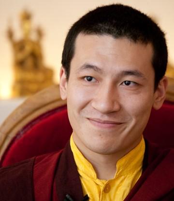 Der 17. Gyalwa Karmapa Thaye Dorje ist das spirituelle Oberhaupt der Karma Kagyü Schule des tibetischen Buddhismus